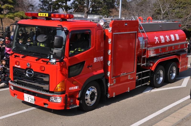掛川市消防出初式